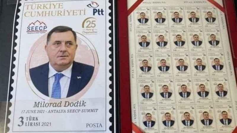 Yazıklar olsun! PTT Srebrenitsa Katliamı'nı inkar eden için pul bastı