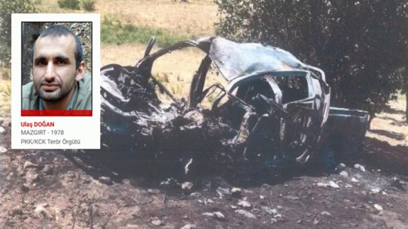 MİT, kırmızı listedeki PKK'lı Ulaş Doğan'ı etkisiz hale getirdi