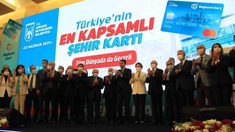 Ankara'da Başkent Kart dönemi