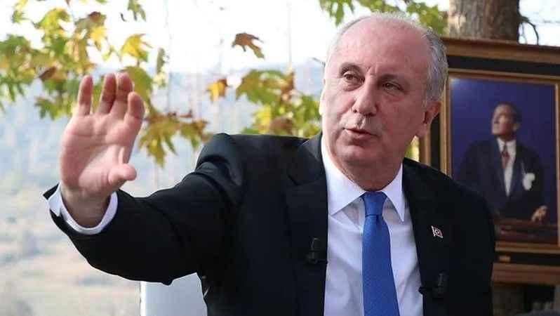 Muharrem İnce'den eski partisi CHP'ye sert sözler