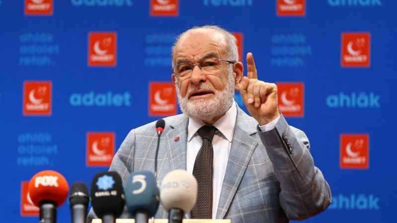 """Karamollaoğlu: """"Şahıslar mı masumiyete karar verecek mahkemeler mi?"""""""