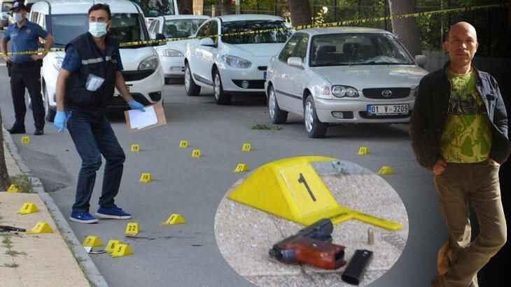 Sokakta eşini öldüren adam olay yerine gelen polislere de ateş açtı!