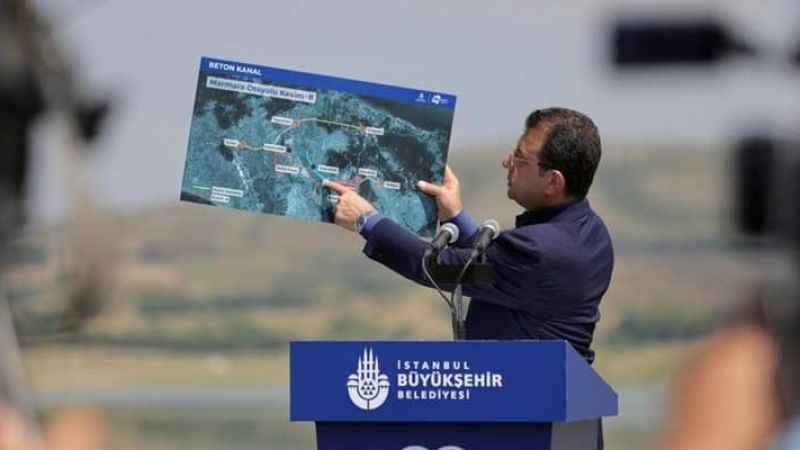İmamoğlu: 26 Haziran'da temeli atılacak olan Kanal İstanbul değil!