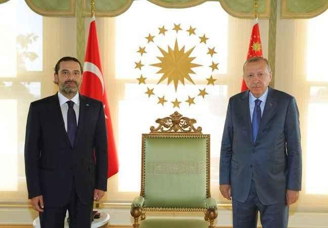 Cumhurbaşkanı Erdoğan, Saad Hariri ile görüştü