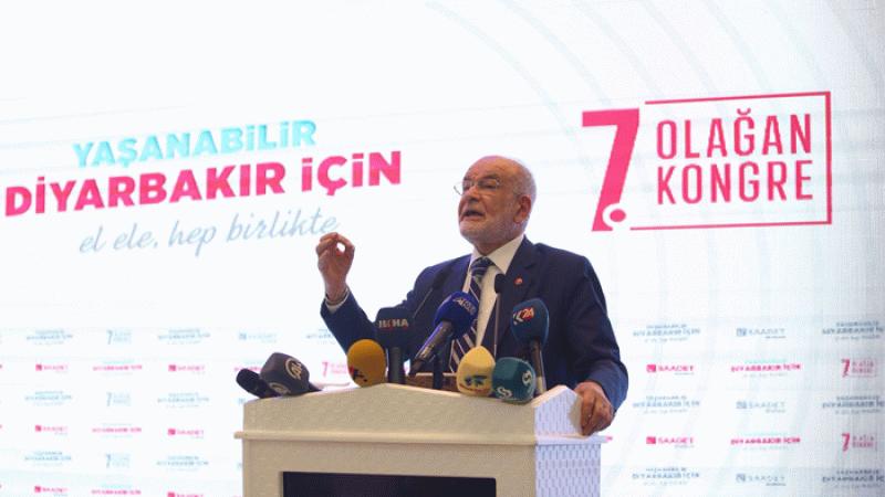 Karamollaoğlu'ndan Diyarbakır tepkisi: Kayyumla olmaz, seçim yapılmalı