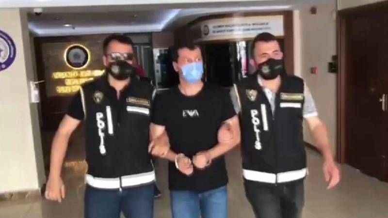 Kuzey Makedonya'da yakalanan Zafer Saral İstanbul'a getirildi