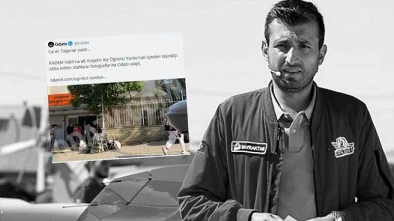 Selçuk Bayraktar, ODA TV'nin elinde patlayan haberiyle dalga geçti