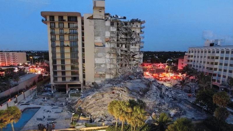ABD'de çöken binada 150'den fazla kişiden haber alınamıyor!