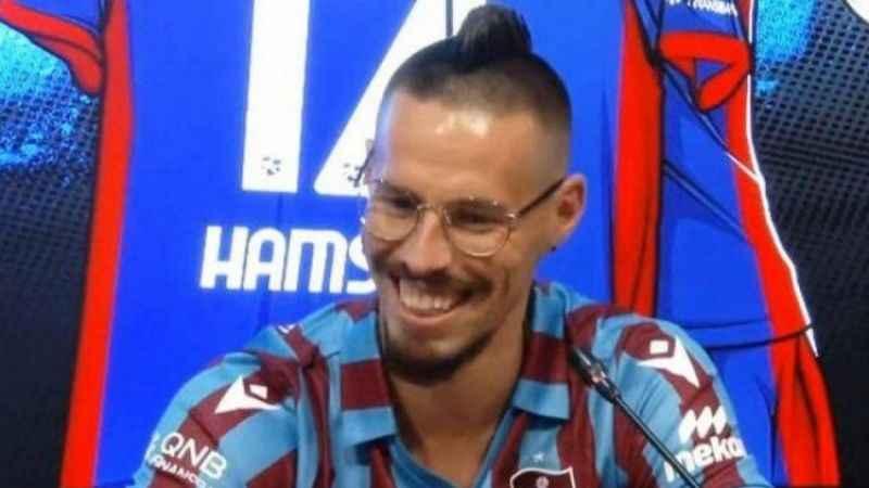 Marek Hamsik'ten Trabzonspor taraftarına benzetme