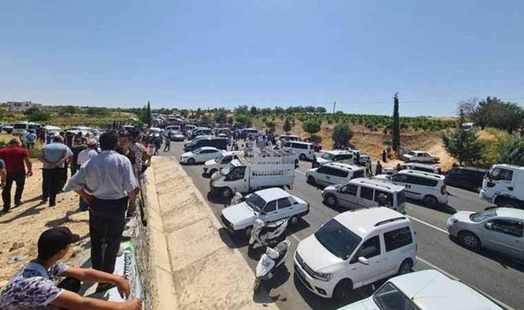 Protesto devam ediyor: Adıyaman'da yollar kapatıldı