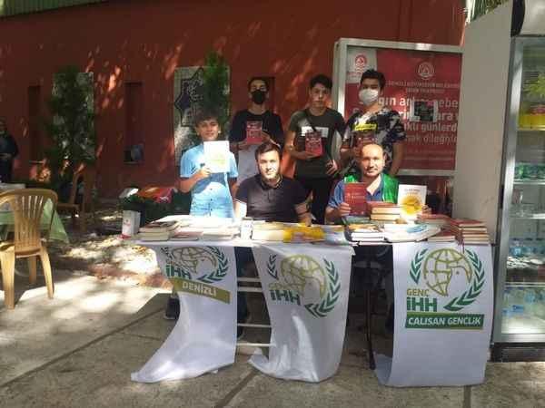 Denizli'de Filistin 'Hayır Çarşısı' açıldı