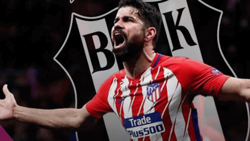 Beşiktaş'ın Diego Costa transferinde sıcak gelişme!