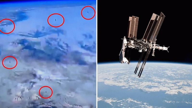 NASA'nın canlı yayında ortalığı karıştıran görüntüler!