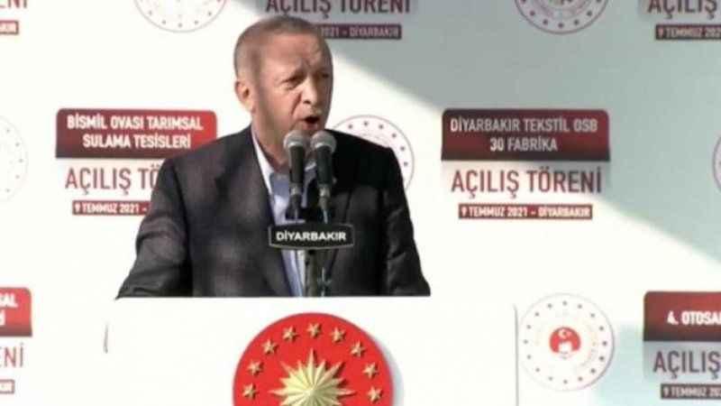 Erdoğan'dan Diyarbakır'da çok konuşulacak 'çözüm süreci' çıkışı!