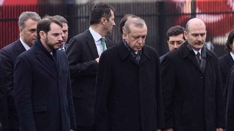 Berat Albayrak, Süleyman Soylu ve Erdoğan hakkında suç duyurusu!