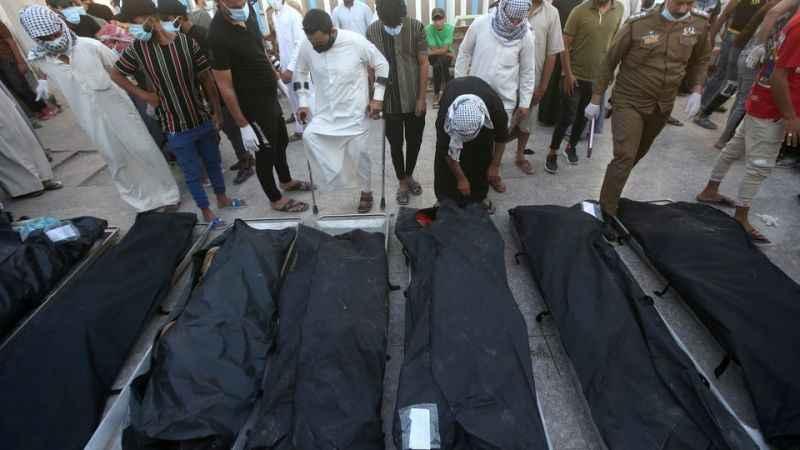 Son Dakika: Irak'ta ölü sayısı 92'ye yükseldi