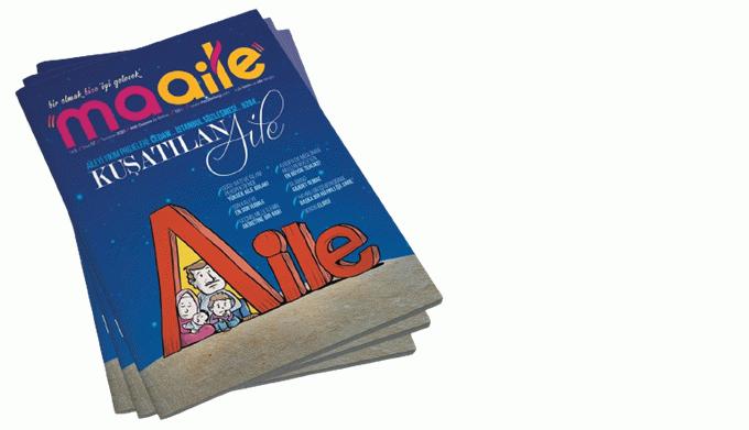 """Maalie Dergisi """"Kuşatılan aile"""" kapağıyla dikkatleri çekiyor"""
