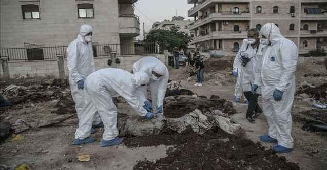 Afrin'de YPG/PKK terörü: 35 kişilik toplu mezar bulundu
