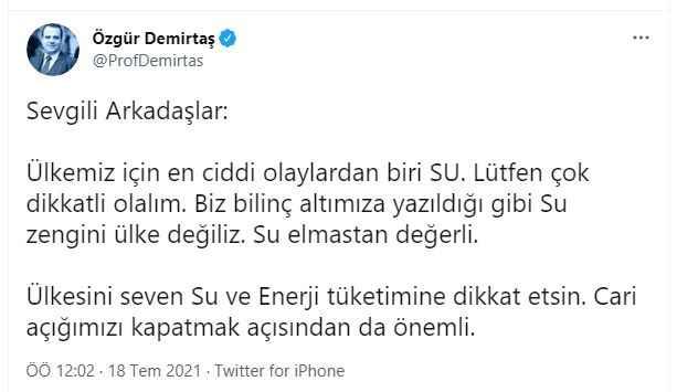 Özgür Demirtaş'tan flaş açıklama: Elmastan bile değerli