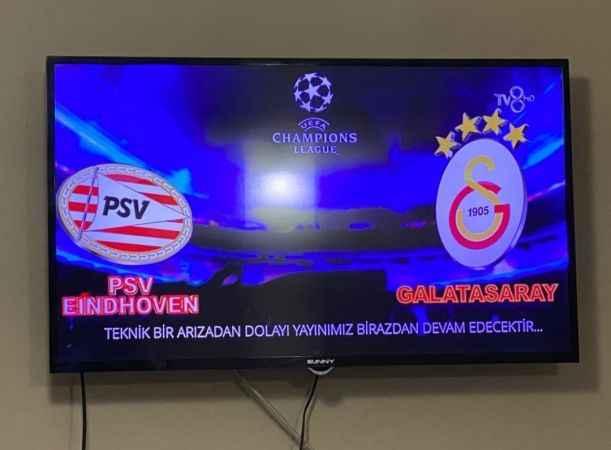 PSV-Gs maçında son durum! Acun neden yayını kesti?