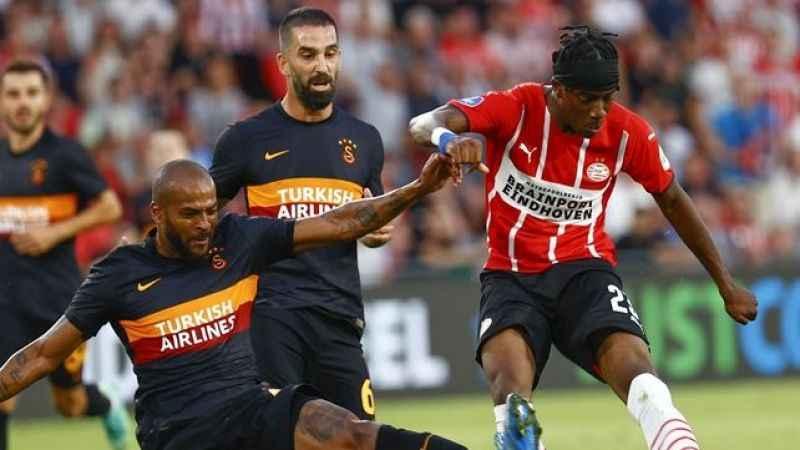 Galatasaray, PSV'ye 5-1 mağlup oldu