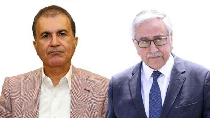 Mustafa Akıncı'nın külliye tepkisine AK Parti Sözcüsü Çelik'ten cevap