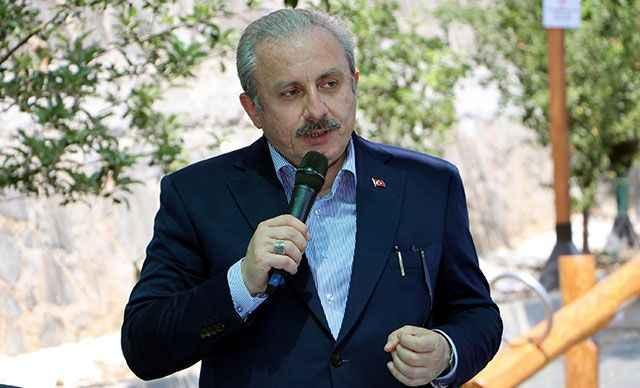 Mustafa Şentop'tan AB'ye kapalı Maraş tepkisi