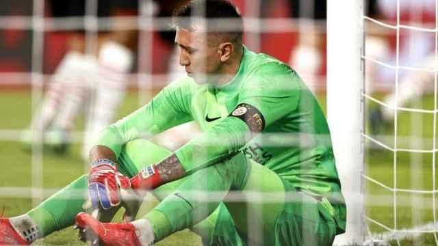 PSV - Galatasaray maçında Fernando Muslera'dan 2 büyük hata