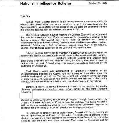 CIA raporu ortaya çıktı: ABD'ye en büyük engel Erbakan!