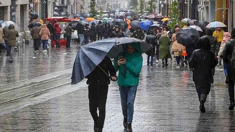 Meteoroloji'den İstanbul'a sağanak uyarısı: Bugüne dikkat...