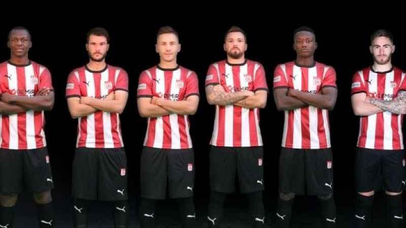 Sivasspor'da ayrılık rüzgarları! Sivas'tan 6 futbolcusuna teşekkür