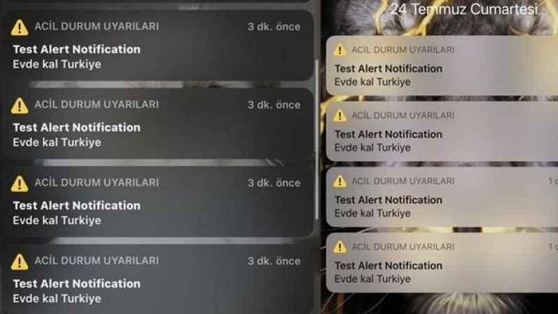 Türkiye'deki iPhone kullanıcılarını sabah sabah ayağa kaldıran mesaj