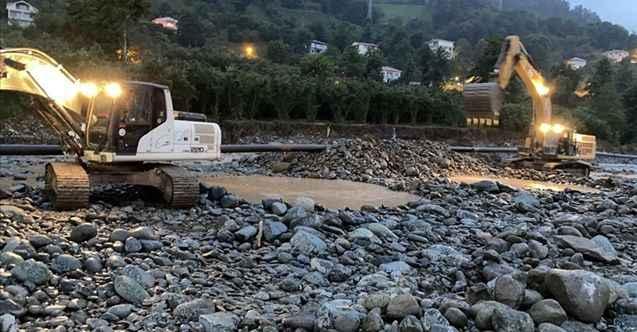 Arıza giderildi: Arhavi'ye su veriliyor