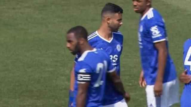 Beşiktaş'la anlaştığı konuşulan Ghezzal, Leicester'da maça çıktı