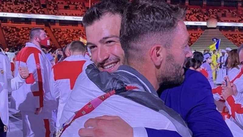 Suriyeli iki kardeş yıllar sonra olimpiyatta buluştu!