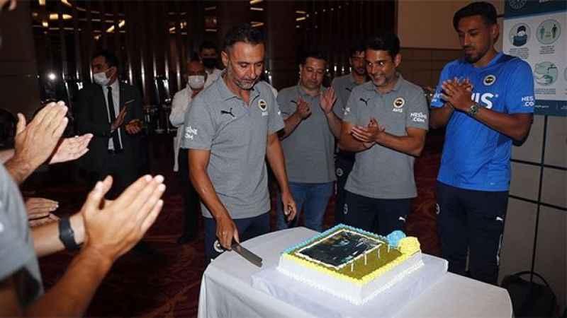 Vitor Pereira'ya doğum günü kutlaması