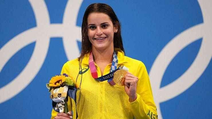 McKeown'den Tokyo'da olimpiyat rekoru