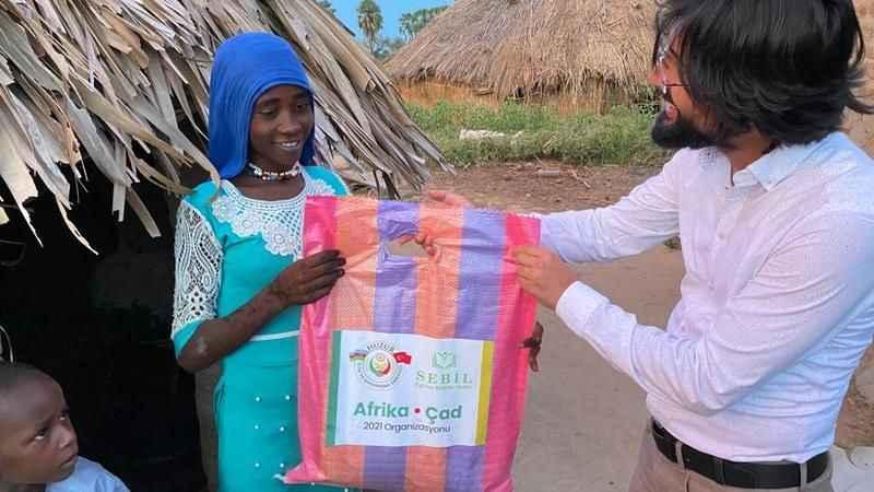 Huzur Derneği, Afrika Çad'a 'Huzur' oldu!