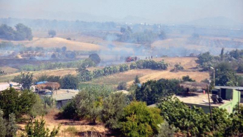 Bir yangın haberi de Adana'da! Adana'nın 2 ilçesinde orman yangını