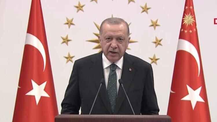 Cumhurbaşkanı Erdoğan'dan flaş ''Karadeniz gazı'' açıklaması