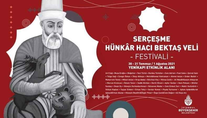 İstanbul'da Serçeşme Hünkâr Hacı Bektaş Veli Festivali yapılacak