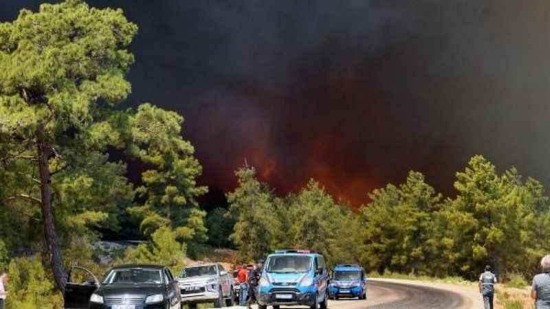 Başsavcılıktan Manavgat'taki orman yangını hakkında açıklama