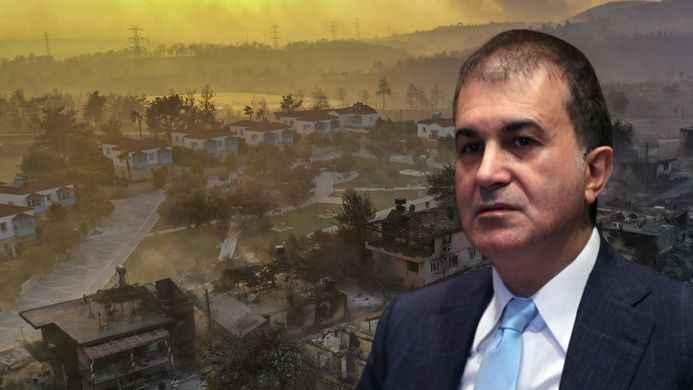 AK Parti'den yerleşim yerlerindeki yangınlara ilişkin açıklama