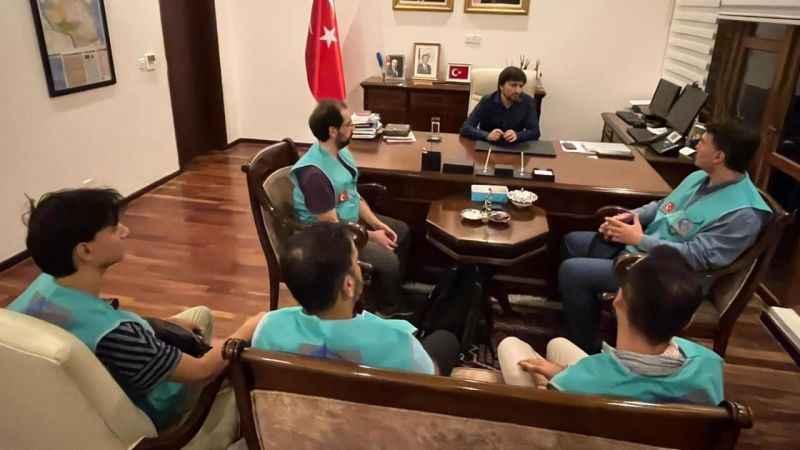 Cansuyu ekipleri Tanzanya'da Türkiye büyükelçisini ziyaret etti