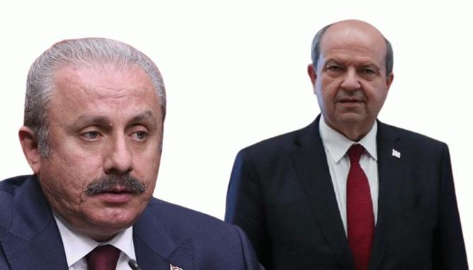 Ersin Tatar'dan TBMM Başkanı Mustafa Şentop'a 'teşekkür' telefonu