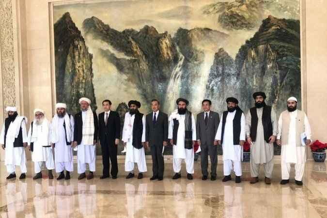 Taliban heyeti Çin'i ziyaret etti! Çin'den ABD'yi kızdıracak açıklama
