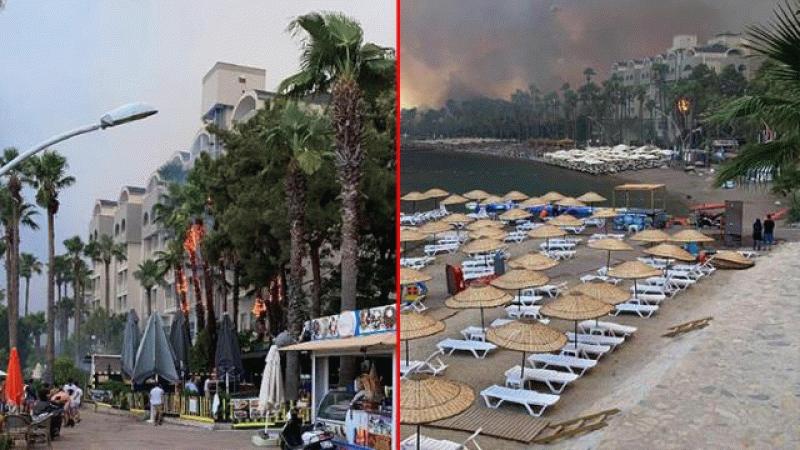 Marmaris'teki yangını çıkartanlar bulundu! Karakola Pedagog çağırıldı
