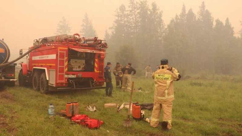 Rusya'da orman yangını! 1.3 milyon hektarlık alanı küle döndü