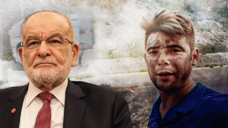 Karamollaoğlu, Marmaris yangınında ölen Şahin Akdemir için mesaj