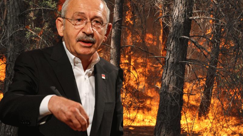 Kılıçdaroğlu'ndan yangın yorumu: Söndürmek için devlet ihale mi açar?